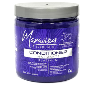 Maravisus Silver Hair ® CONDITIONER Matting PLATINUM - ACONDICIONADOR Matizante PLATINUM