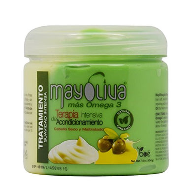 Mayoliva - Hair Treatment - Organic - Therapy for Dry & Damaged Hair