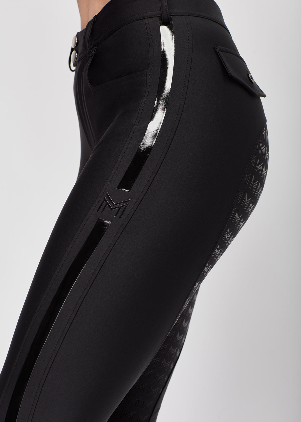 Reflection Full Grip Breeches - Black