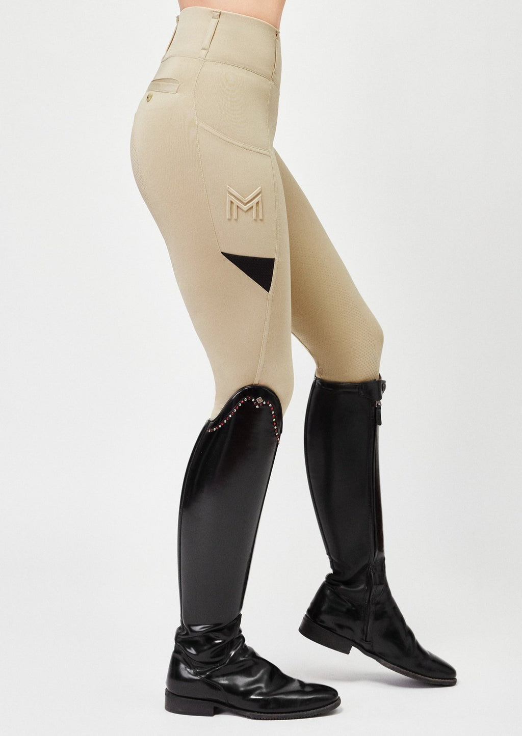 Tech Riding Leggings - Champagne