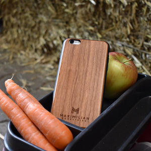 Natural Cherry Wood Phone Case