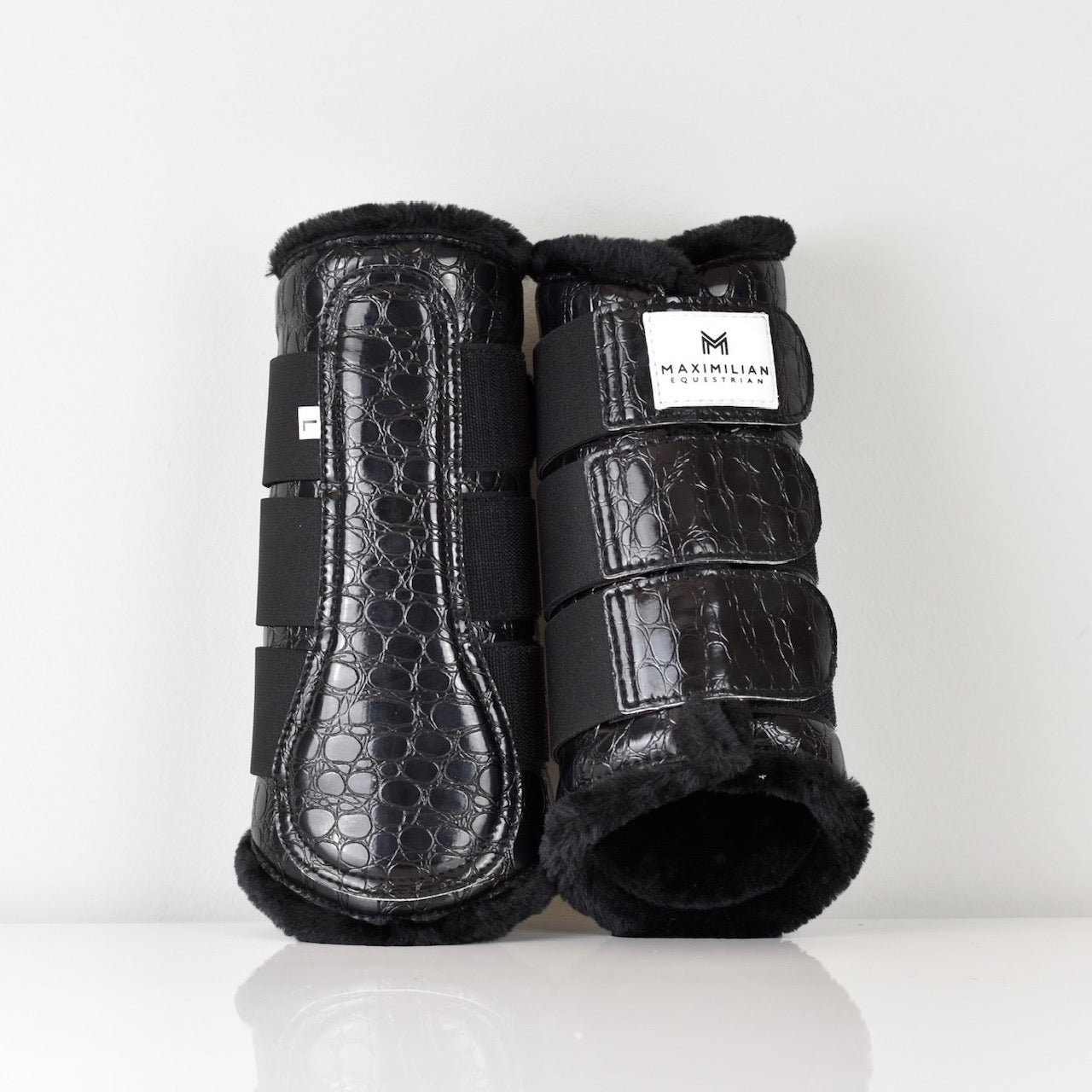 Croc Brushing Boots - Black