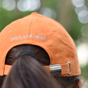 Orange Suede Cap