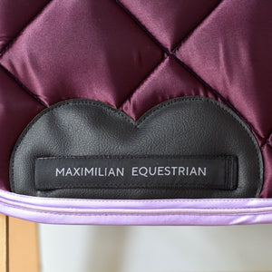 Heart Saddle Pad - Jumping (Satin Berry)
