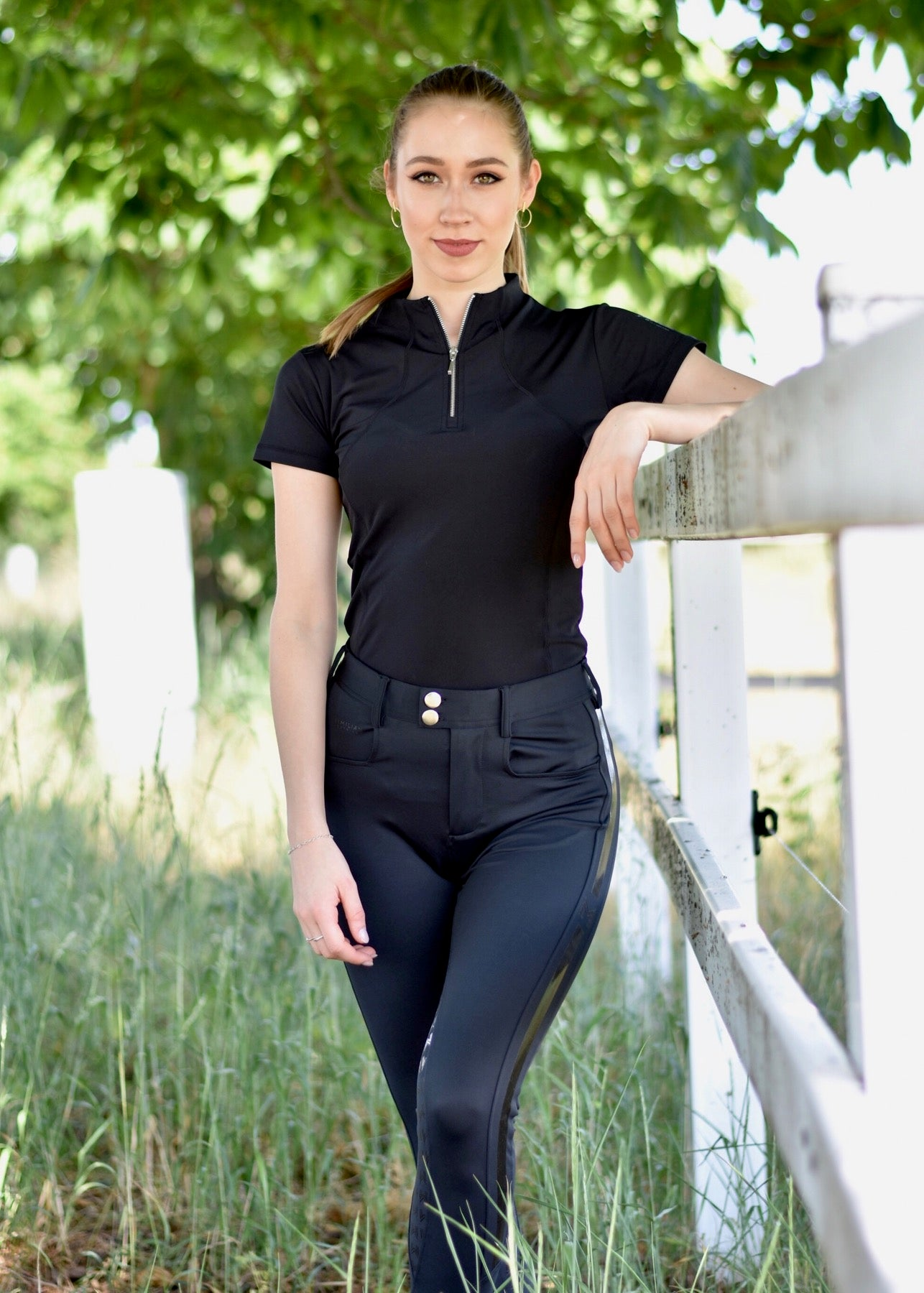 Reflection Technical Shirt - Black