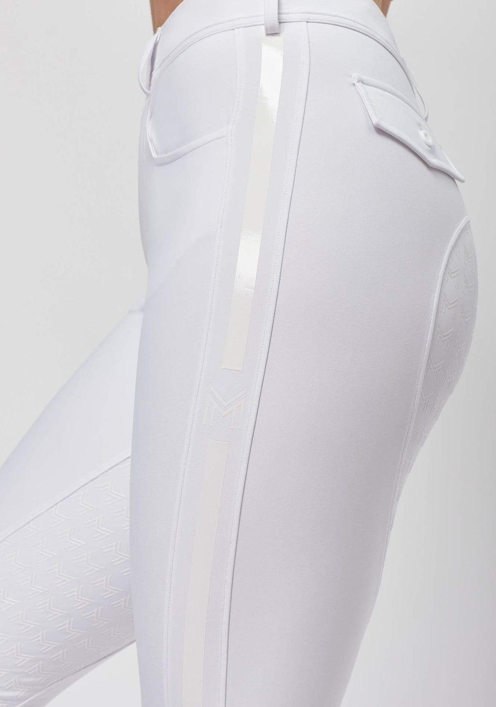 Reflection Full Grip Breeches - White