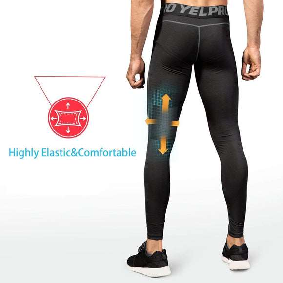 Men's Compression Pants 2 Pack - Niksa