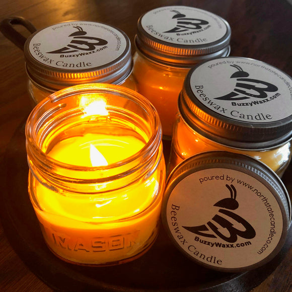 BuzzyWaxx Beeswax Candle