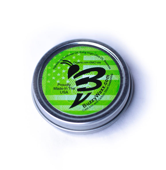 BuzzyWaxx Green 1 Can