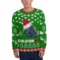 Escalation 1985 Christmas Faux Knitting Unisex Sweatshirt