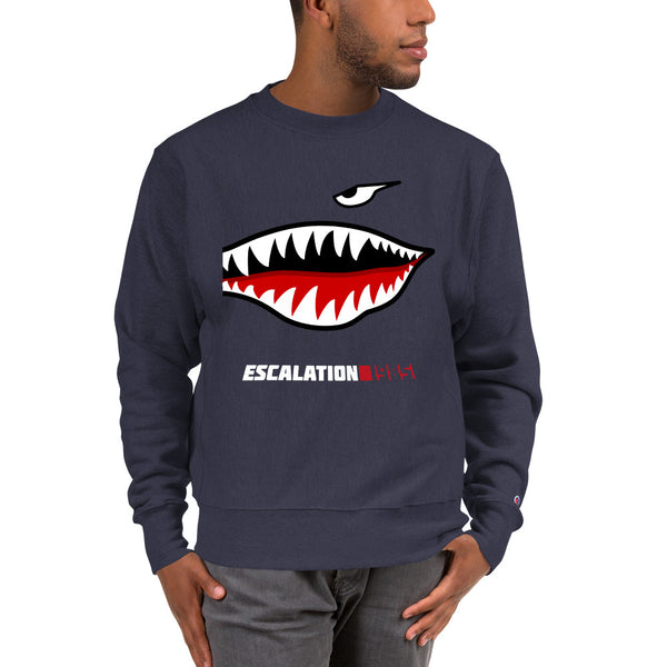Escalation 1985 Nose Art Champion Sweatshirt