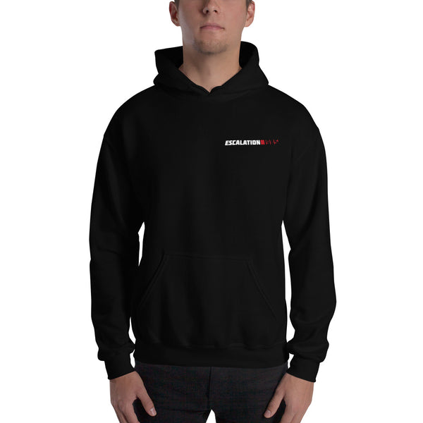 Escalation 1985 Logo Hooded Sweatshirt