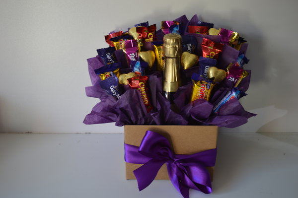 Selection Cadbury Assortments Champagne Bouquet
