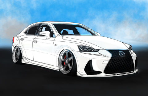 White Lexus is350 ft.@joannahgizmo