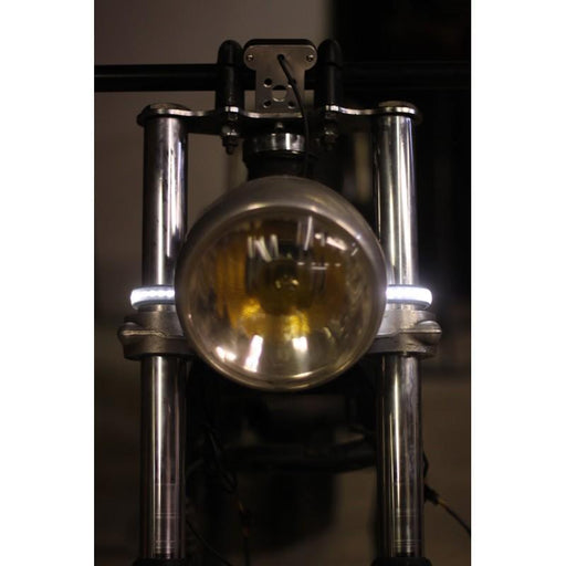Clignotant de fourche diurne phare veille led - moto custom - french monkeys bande cligno clignotant paire custom cafe racer bobber scrambler frenchmonkeys