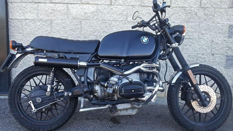 exhaust scrambler stainless steel mass for bmw r60, r65 and r75 made by hand (962408087609)