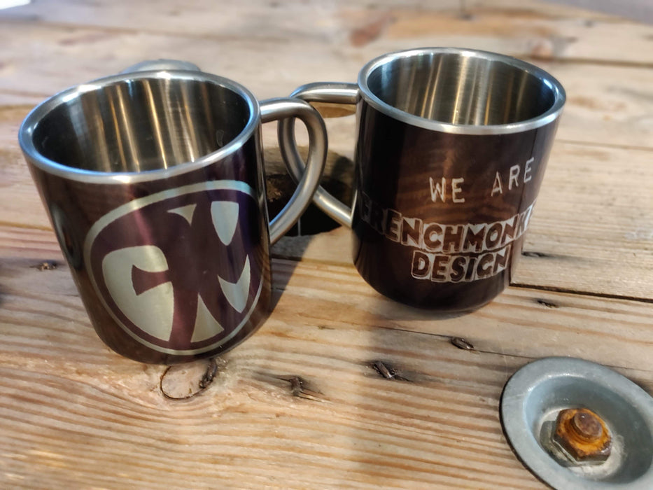Mug Inox We Are Frenchmonkeys (1777469849657)