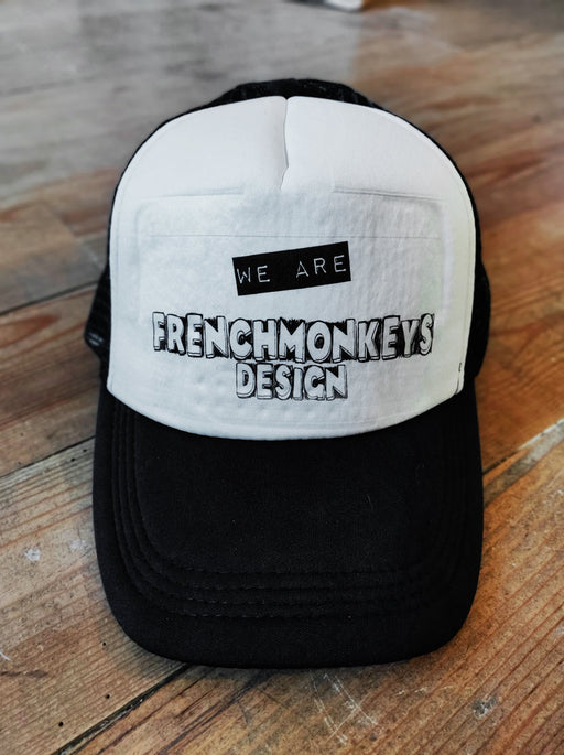 Casquette trucker We Are Frenchmonkeys (1780332101689)