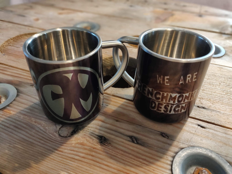 Tazza We Are Stainless Steel Frenchmonkeys (1777469849657)