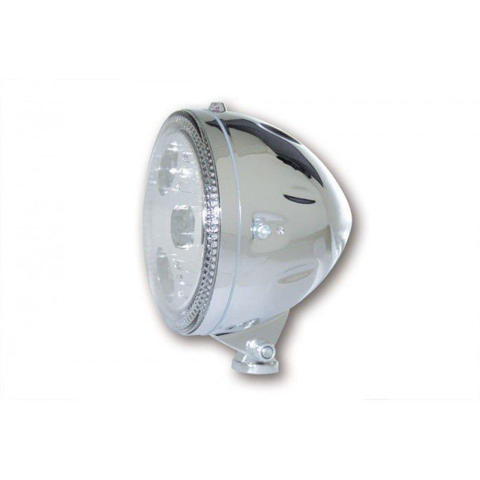 Phare LED HIGHSIDER Atlanta chromé diamètre 145mm (4486982402147)