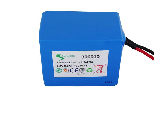 Batterie Solise 6V B06010 (2236919742521)