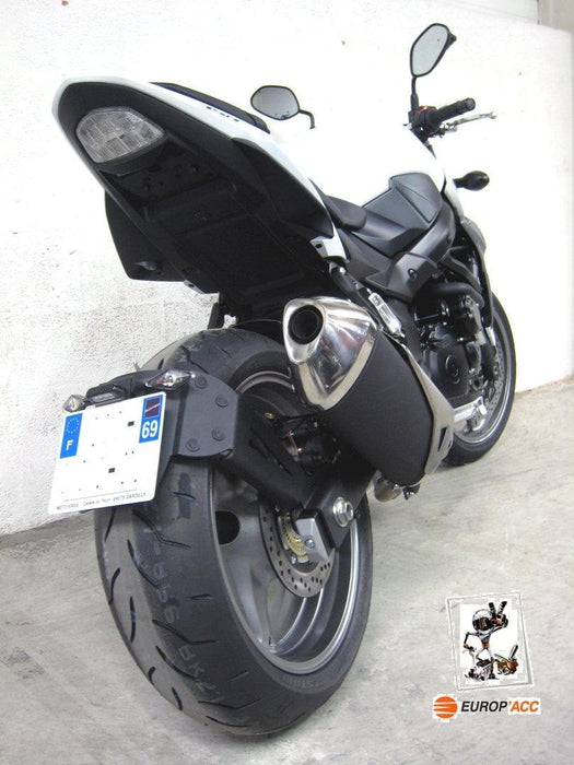 Support de plaque lèche-roue adapt. SUZUKI GSR 750 11/15
