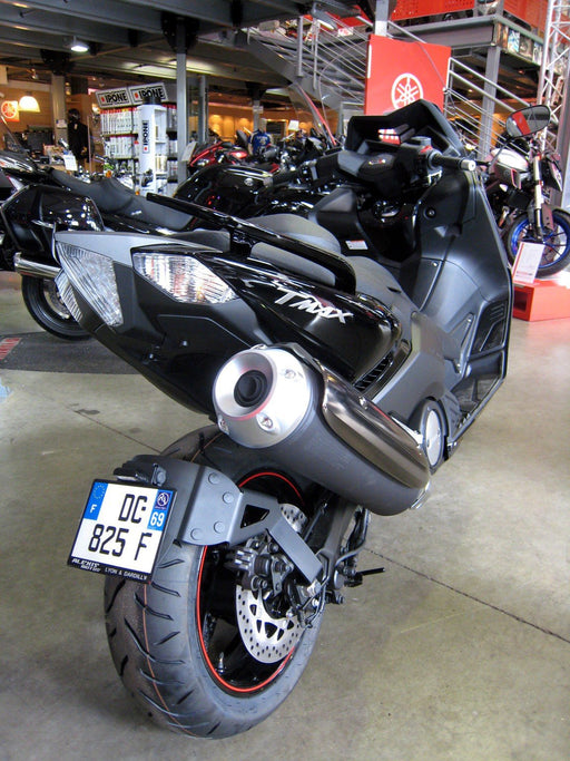 Support de plaque lèche-roue adapt. YAMAHA T-MAX 530 12/15