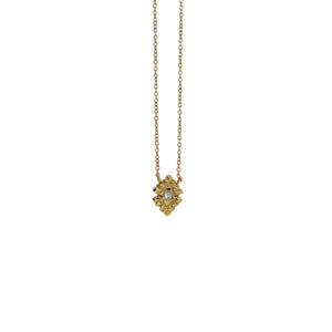 diamond light necklace