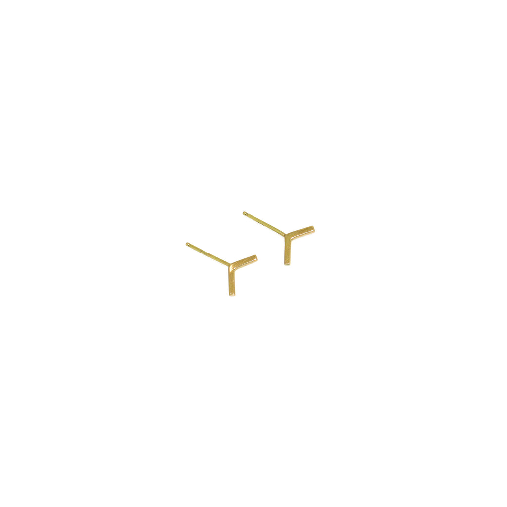 Diana Mitchell Arrow Stud Earrings