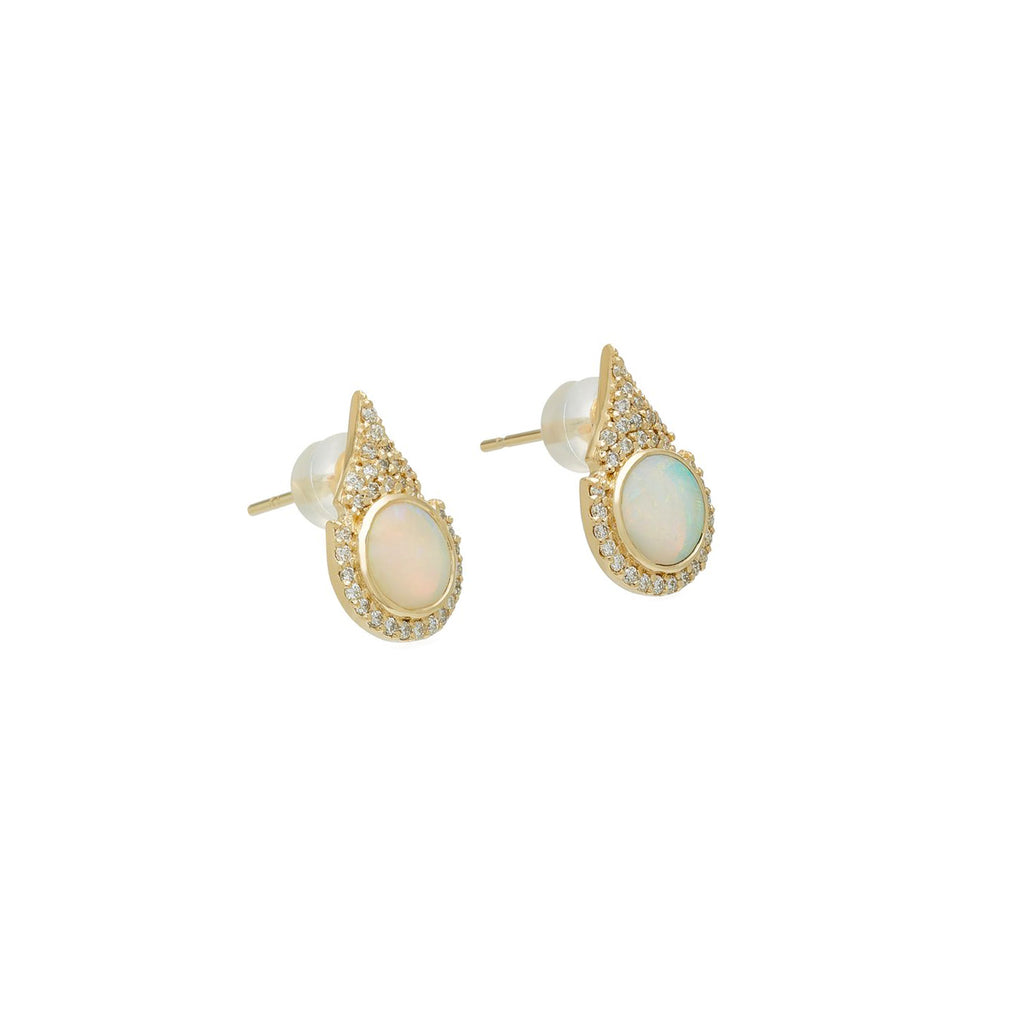 Aziza Opal Earrings