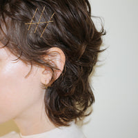 Kelly Bello Design Solid Gold Bobby Pin