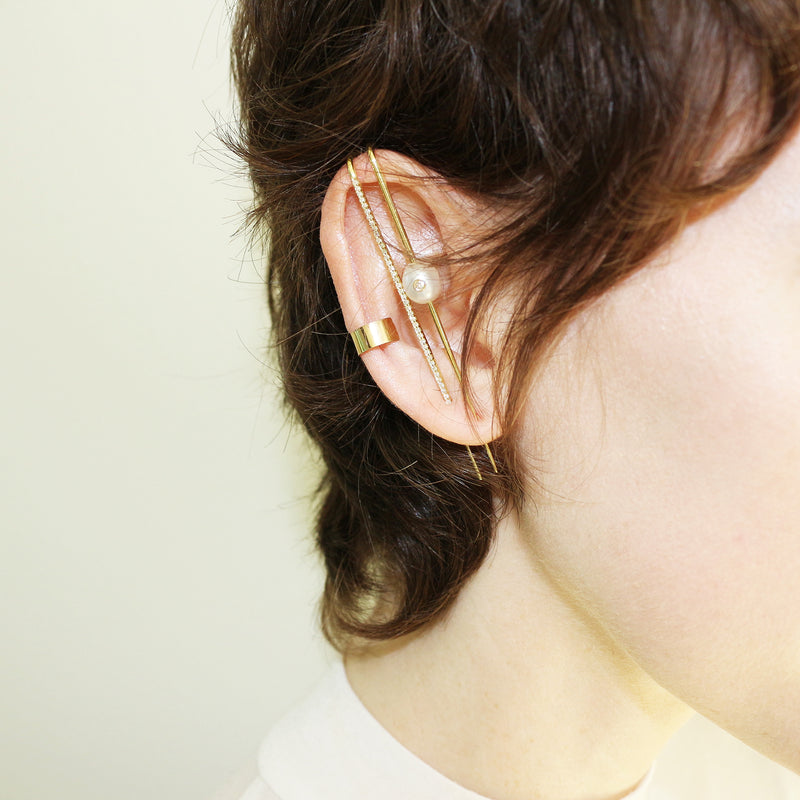 KATKIM Thread Ear Pin Earrings