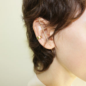 KATKIM Diamond Thread Ear Pin Earring
