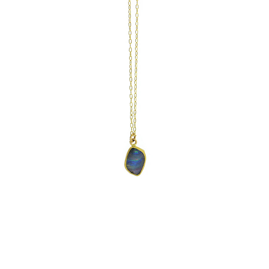 Margery Hirschey Opal Pendant Necklace