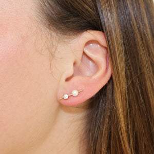 Mau Jewelry Orion Diamond Climber Earring