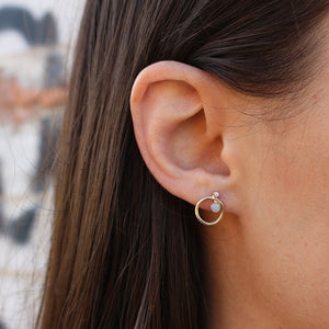 Orbitus Stud Earring