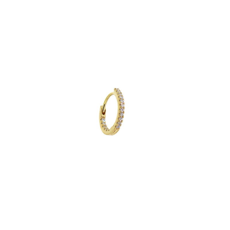 Maria Tash Diamond Gold Eternity Earring