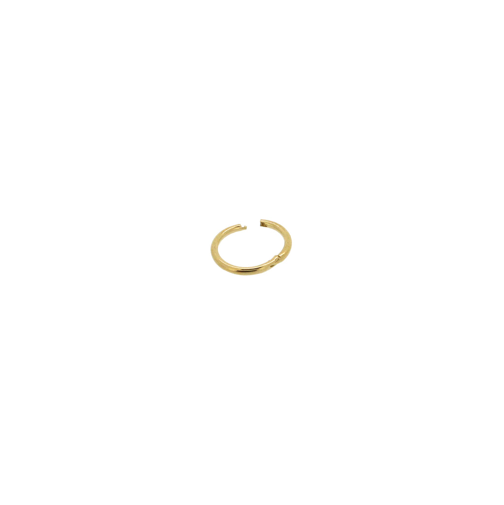 Maria Tash Mini Gold Hoop Earring
