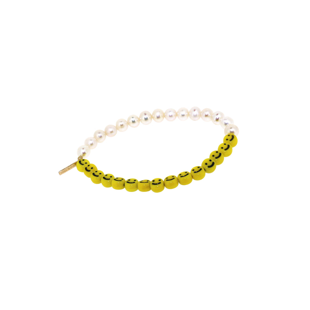 Nektar de Stagni Pearl Smiley Bracelet