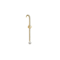 KATKIM Petite Diamond Thread Ear Pin