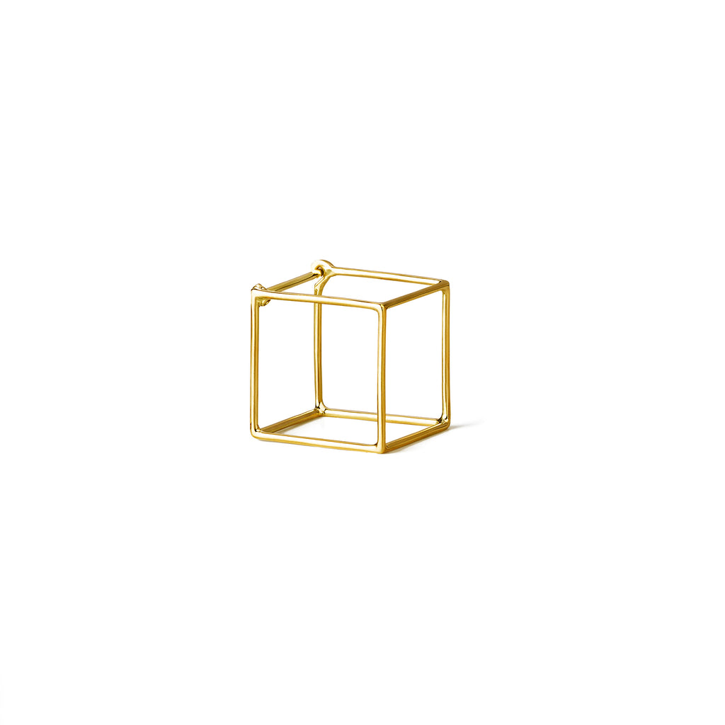 3D Square Earring 15