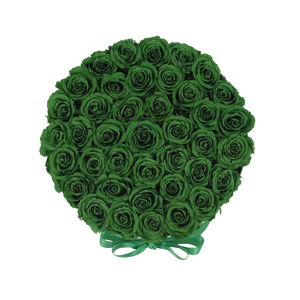Orb Grand Emerald Green Roses