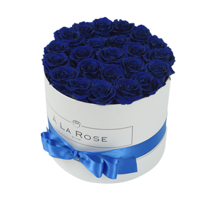 Orb Deluxe Royal Blue Roses