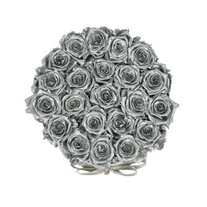 Orb Deluxe Silver Roses