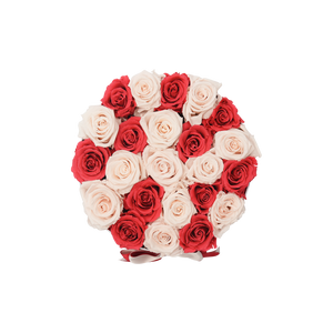 Orb Deluxe Pink And Light Pink Checkered Roses