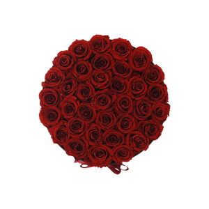 Orb Grand Antique Red Roses - Black Box