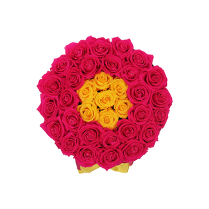 Orb Grand Hot Pink And Yellow The One Roses