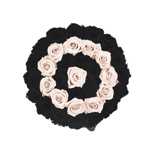 Orb Grand New Sand and Black Rows Roses