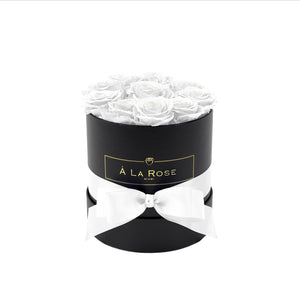 All White Roses In A Box