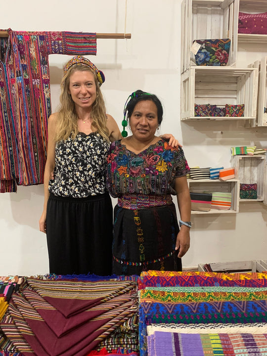 Interview with our volunteer Clemmie | TRAMA TEXTILES
